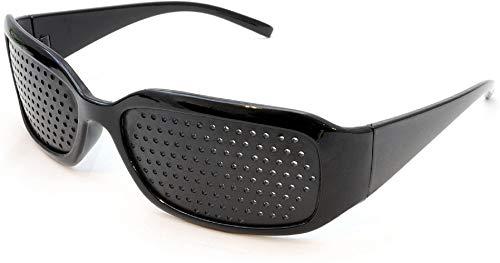 baratos y buenos Las gafas itian® obscura alivian la fatiga y previenen la miopía (negro) calidad