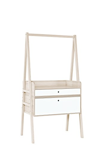 Little Guy Comfort 4013917 Spot Children's Convertible Dresser with Changing Table, Large, Acasia