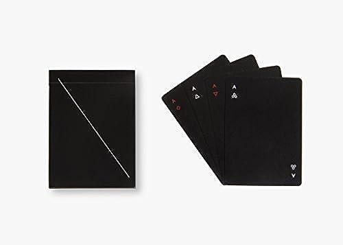 presentando toda la última moda de la calle MINIM Playing Cards, negro negro negro by Areaware  punto de venta de la marca