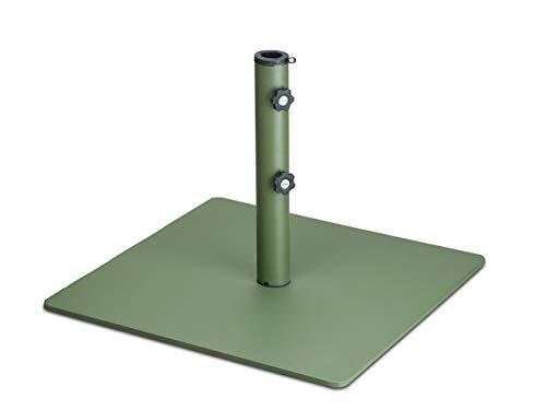 LANTERFANT - Sonnenschirmständer Tygo, Metall, 48 mm, Metall, Erhältlich in DREI Farben, Grün