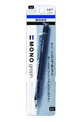 Tombow Mechanical Pencil, Monograph 0.5mm, Gunmetal (DPA-132I)