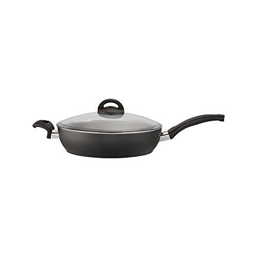 BALLARINI Pisa Forged Aluminum Nonstick Saute Pan with Lid, 3.9 quart