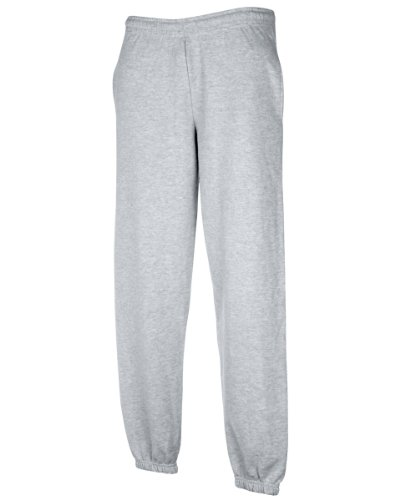 Fruit Of The Loom,pantaloni da jogging Heather Grey X-Large