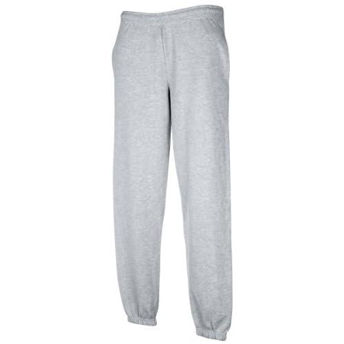 Fruit Of The Loom,pantaloni da jogging Heather Grey M