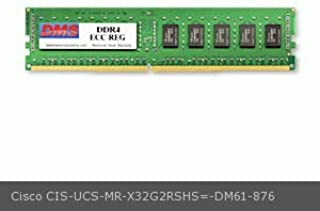 DMS Compatible/Replacement for Cisco UCS-MR-X32G2RSHS= UCS B200 M5 Blade Server 32GB DMS Certified Memory DDR4-2666 (PC4-21300) 4096x72 CL19 1.2v 288 Pin ECC Registered DIMM - DMS