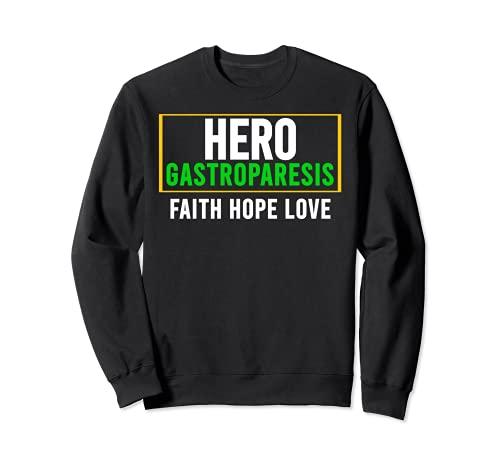 Camisa de conciencia gastroparesia - Héroe de conciencia de la gastroparesia Sudadera