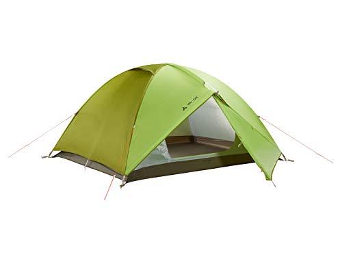 VAUDE Campo 3P Tente dôme pour Le Camping Mixte Adulte, Chute Green, 345 x 215 x 105 cm