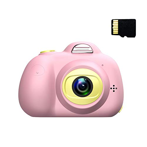 jieGorge 1080P HD Children Digital Camera Selfie Photographic Machine 8MP Camera, Education, Products for Xmas Day (Pink)