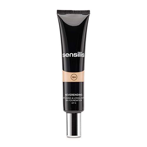 SENSILIS Neverending 02 Noix. Maquillaje Antiedad SPF 15