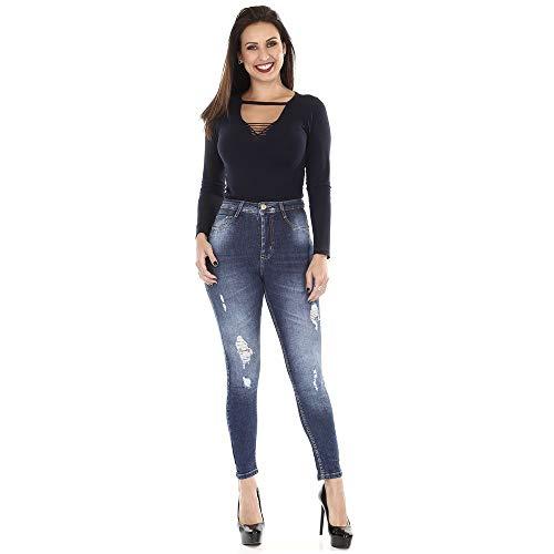 Calça jeans feminina cigarrete 360 264743 40