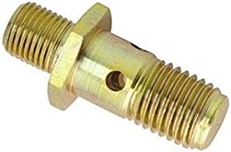 Metric Fitting M12 x 1.5 M12X1.5 to M12X1.5 Banjo Bolt with Check Valve Fuel Pump