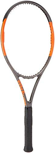 Wilson Burn 95 CVTNS FRM W/O Raqueta de Tenis, Unisex Adulto, Negro/Naranja (Frozen Smoke/Power Orange), 3