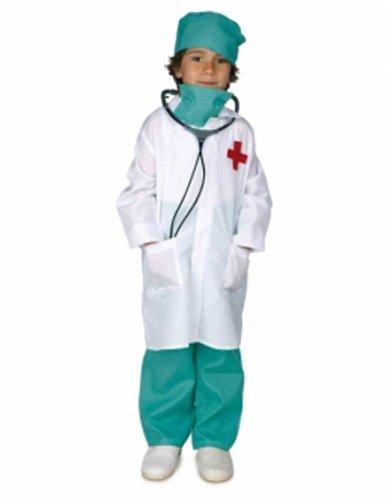 Disfraz infantil niño medico - talla 8 - 10 años