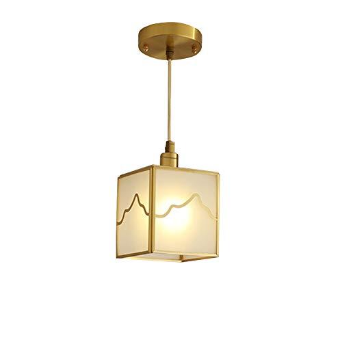 QFF Estudio de la lámpara, Sala de Estar Entrada del Restaurante luz de la Noche lámparas de iluminación de Techo del LED E14 irradiación Área: 5㎡-10㎡ Iluminación de Barra (Color : A-13 * 21cm)
