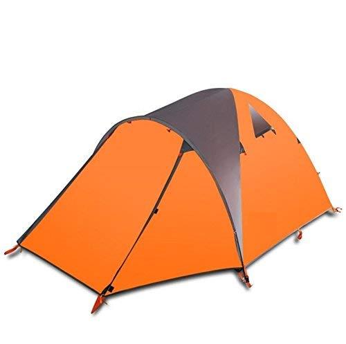 RYP Guo Outdoor Products Outdoor Convient pour 2 Personnes Utilisez des tentes, des tiges de Fibre de Verre Robuste et Durable, imperméable, Respirant, des tentes portatives à la Maison,2 Personnes,B