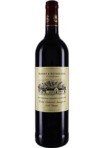 Rupert & Rothschild Merlot/Cabernet 2016 trocken (0,75 L Flaschen)