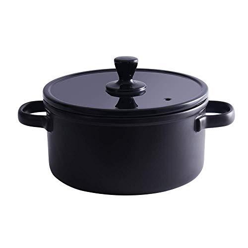 Materiales de primera clase, mano de obra exquisit Crock de cerámica olla Sopa Sólida Pot Stef Hot Stef Pot Casserole Cocinar utensilios de cocina Sopa de cerámica Cocina Cocina Cocinero Cerámica Stew