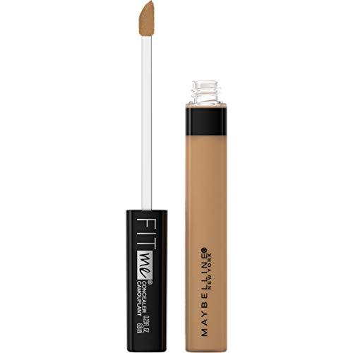 Maybelline Fit Me Liquid Concealer Makeup, Natural Coverage, Oil-Free, Café, 0.23 fl. oz.