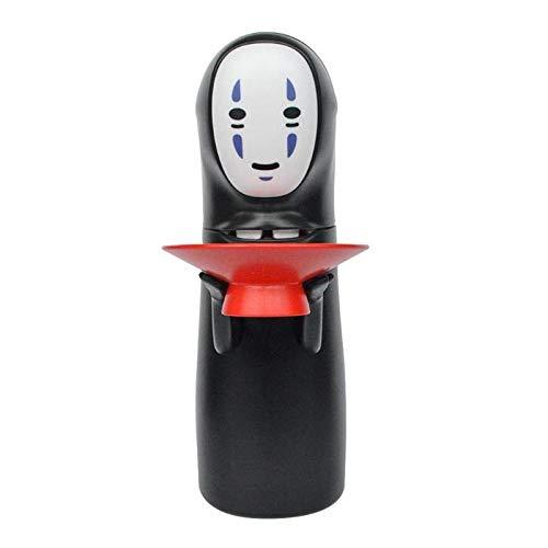 El Viaje De Chihiro Sin Rostro Hombre Caja De Dinero ElectróNica Figura Fantasma Moneda AlcancíA De Dibujos Animados Hombre Sin Rostro Divertido Figura Fantasma Caja De Ahorro Green