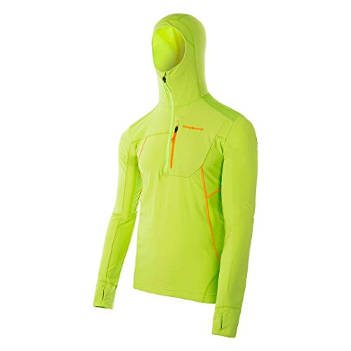 Trangoworld colonney Pullover, Homme XXL Vert Clair