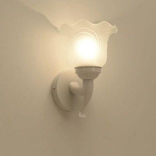 Desinger Lámpara de Pared esférica de Vidrio de Metal Habitación romántica Moderna de Pared de luz de Noche Aplique de Acero Inoxidable de Viena Lámpara de Pared de luz de mañana de Linterna