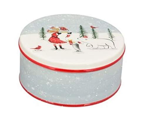 Exner Keksdose Keramik Weihnachten Eisbär Weihnachtsdeko 20cm Vorratsdose