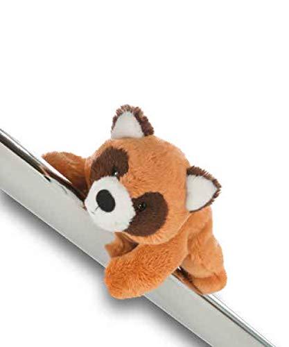 NICI 42284 Wild Friends, 12 cm Der Rote Panda Red Rod ist EIN Magnettier MagNICI genannt. Mit Magneten in den Füßchen haftet er auf Allen metallischen Untergründen, Hellbraun/braun, ca