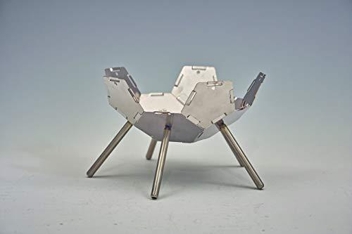ハンゴーコンロ研究所 焚き火台 (1~3人用) ファイヤーピットKIKYO-M[R] 基本キット