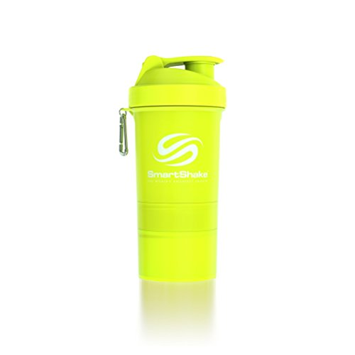 Smart Shake Shaker, 1er Pack (1 X 600 ML), jaune Fluo
