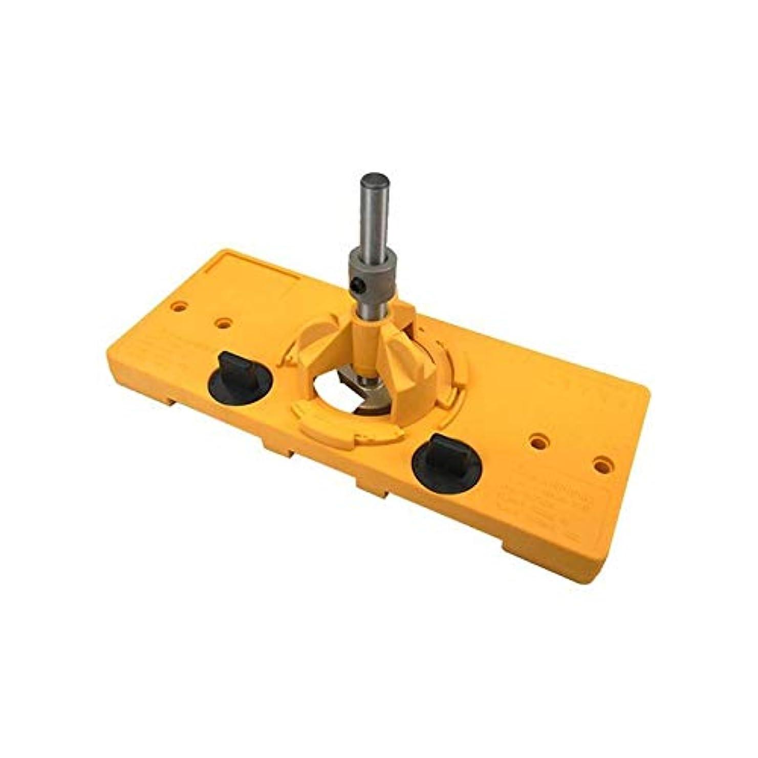 ハイライトに同意する適応的Hongyuantongxun 1PCS正確木工穴拡張ドリルのために配置35MMドアのヒンジドリルビットセット