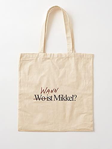 Television Dark TV-Serie Wo Show Fan Wann   Einkaufstaschen aus Segeltuch mit Griffen, Einkaufstaschen aus nachhaltiger Baumwolle