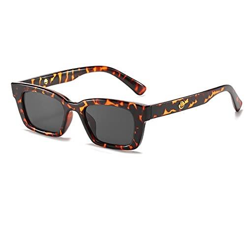 XWKKY Gafas De Sol Rectangulares Vintage Para Mujer Gafas De Sol Con Puntos Retro Gafas De Mujer Para Mujer Gafas De Conductor De Ojo De Gato