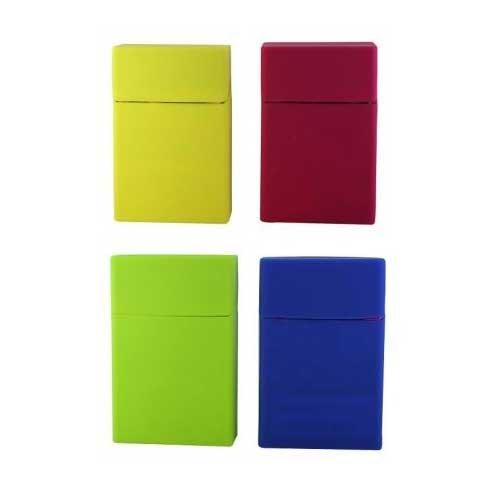 portapacchetto Zigaretten Silikon-Paket verschiedenen Farben