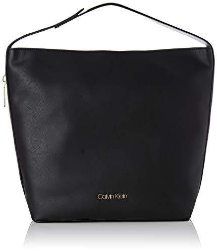 Calvin Klein Jeans Drive Hobo, Borse a spalla Donna, Nero (Black), 15 x 45 x 37 centimeters (B x H x T)