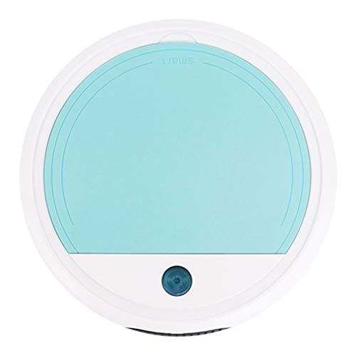 freneci Aspirador Robótico para Limpieza de Pisos, Herramienta de Barrido Multifunción para Dormitorio - Azul Claro, 26x26x6cm