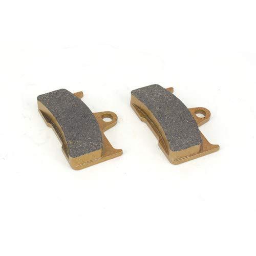An Xin 1 paire de plaquettes de frein avant 65,5 x 44,75 x 11,65 mm pour moteurs Yamaha CCM CF Moto Explorer GOES 520 MAX 07-14 QUADZILLA WT