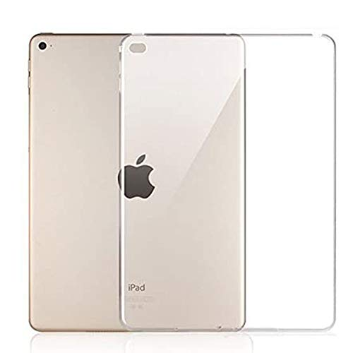of tpu cases for ipads iPad Air II TPU Bumper Case, Ultra-Thin Flexible Silicone Gel Protective Case Cover for 9.7 inch iPad Air 2 - Crystal Clear