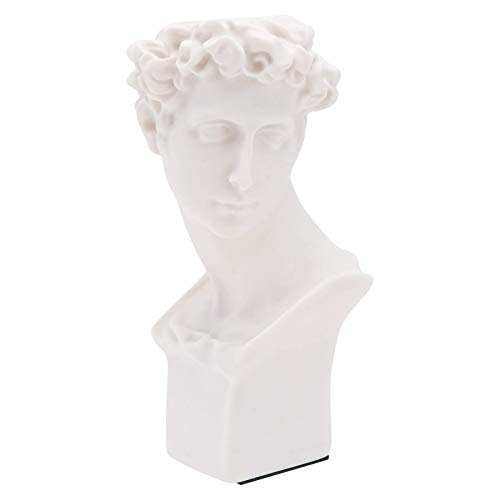 ADSE Indoor Outdoor Heads Planter Resin Succulent Planter Vase Greek Statue Planter Urn Home Garden Decor Sculpture