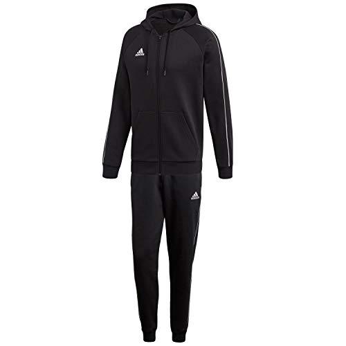 adidas Herren Sweatanzug Core 18 Black/White M