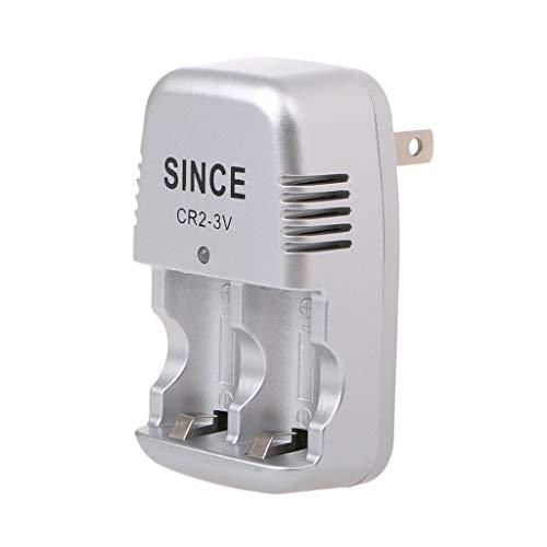 JHD Cargador de Pared del hogar del Viaje de la Pared de 3V para el Enchufe de EE. UU. De la batería Recargable de Litio CR2
