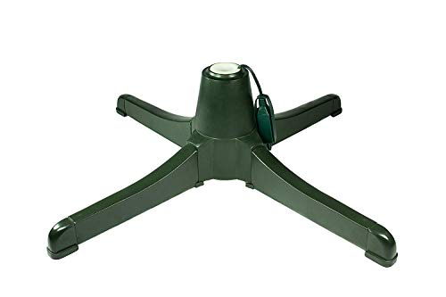 Teal Turtle Winter Wonder Rotating Christmas Tree Stand for Artificial Trees