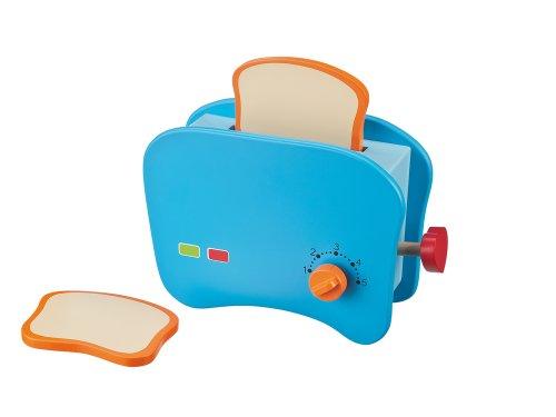 Happy People 45098 - Holz Toaster mit Toastscheiben