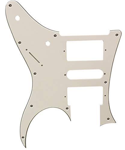 Partes de guitarra para Ibanez RG 350 EX Style Guitarra Golpeador, 3 capas de color blanco.