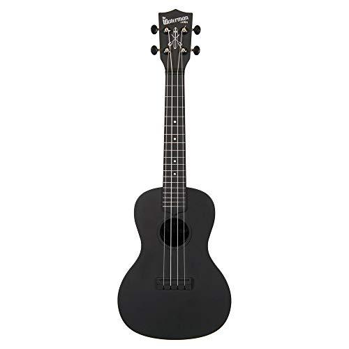 Kala Waterman KA-CWB-BK - Ukelele de concierto (incluye funda), color negro