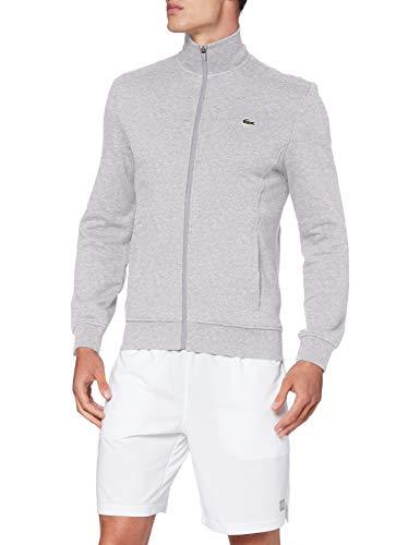 Lacoste SH1559 Sweatshirt, Argent Chine/Elephant, XS Homme