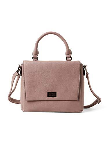 TOM TAILOR Damen Taschen & Geldbörsen Mittelgroße Überschlagtasche Alanna rose,OneSize