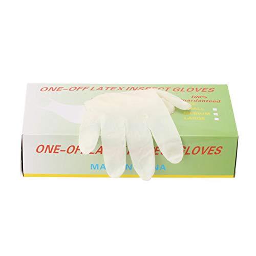 パウダーフリー使い捨てゴム手袋 100枚入 全3種 Sサイズ (10セット-1000枚入) [ 手袋 グローブ ゴム手袋 使い捨て手袋 使い捨てグローブ ]