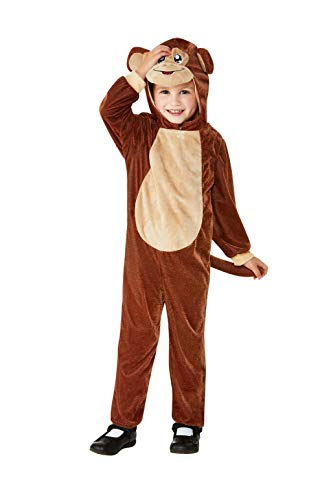 Smiffys 47706T1 Peuter Aap Kostuum, Unisex Kinderen