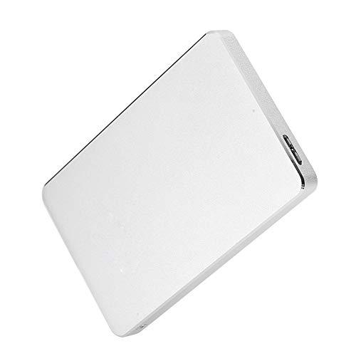 SSD-Festplatte - Festplatte mit 500 GB Speicher Fester Zustand Festplatten-SSD Kleine Tragbare Weiße Anti-Vibration