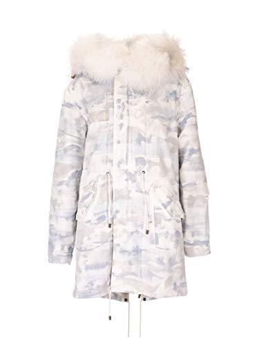 MR&MRS ITALY Luxury Fashion Damen XPM0152100009 Weiss Baumwolle Mantel | Herbst Winter 19